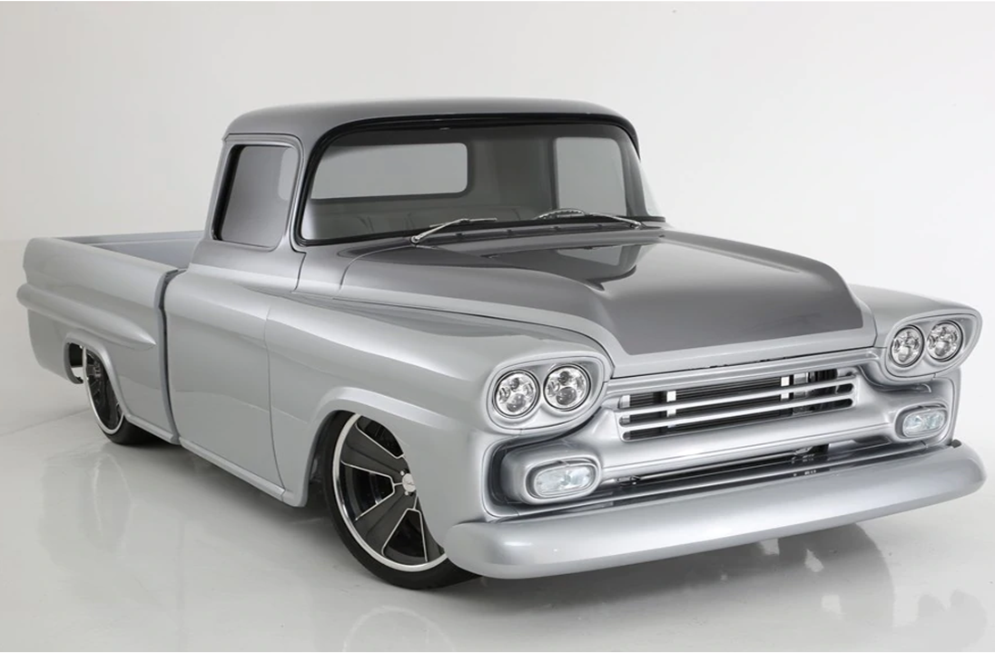 Customized Classic Chevrolet Pickup Trucks Attract Big Spenders At Auctions Autec Chevy Auto Technic Thailand Co Ltd